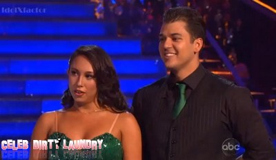 Dancing With The Stars Rob Kardashian's Samba & Argentine Tango Performance Videos 11/14/11