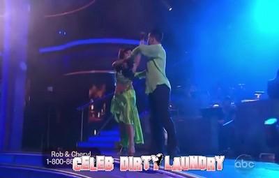 Rob Kardashian's Dancing With The Stars Rumba Video 10/17/11