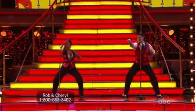 Rob Kardashian's Dancing With The Stars Cha Cha Video 10/24/11