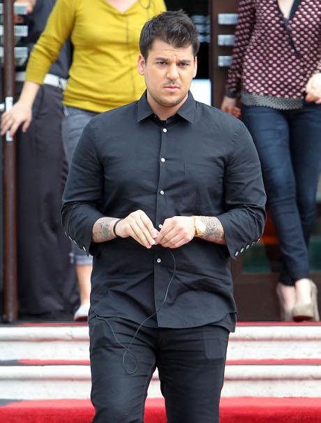 Rob Kardashian Gets Botox to Fix His Drooping Face!