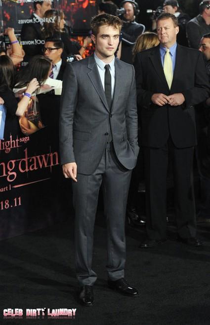 Robert Pattinson NOT Gaining Weight After The Twilight Saga