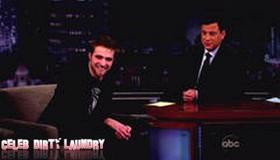 Robert Pattinson Talks Thrusting in Front of his Parents! (Video)
