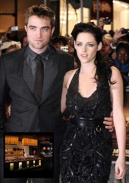 Kristen Stewart And Robert Pattinson – Still Together And Still Digging Sushi!