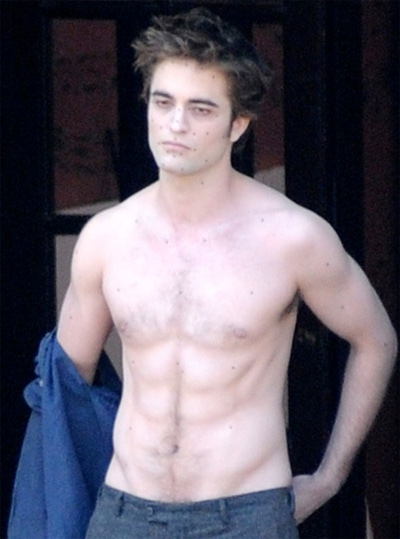 Robert Pattinson Struggles To Stay Buff