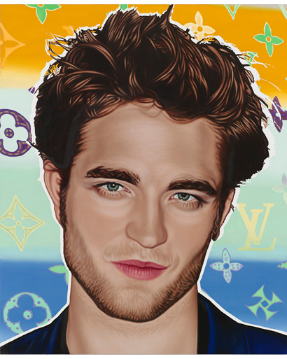 Richard Phillips Portrait's of Robert Pattinson, Kristen Stewart and Miley Cyrus
