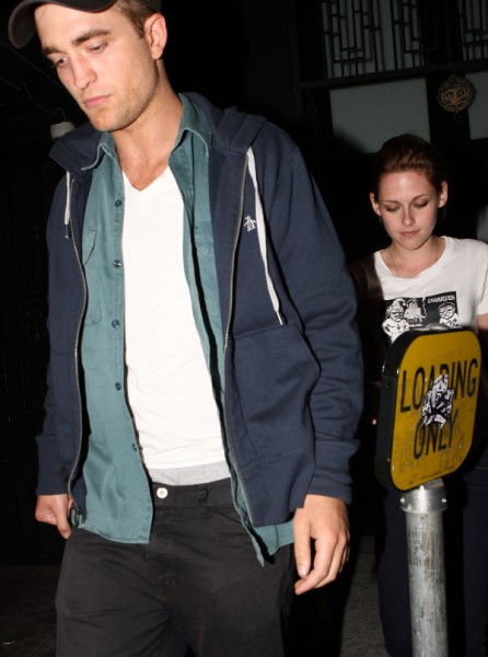 Robert Pattinson And Kristen Stewart Together At Prince Concert Last Night! 1026