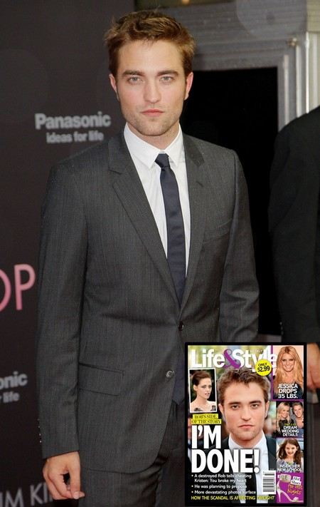 A Destroyed Robert Pattinson Tells Kristen Stewart He's Done! 0801
