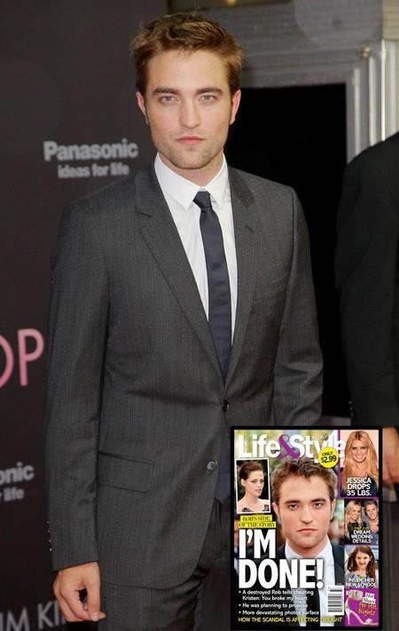 A Destroyed Robert Pattinson Tells Kristen Stewart He's Done! 0801