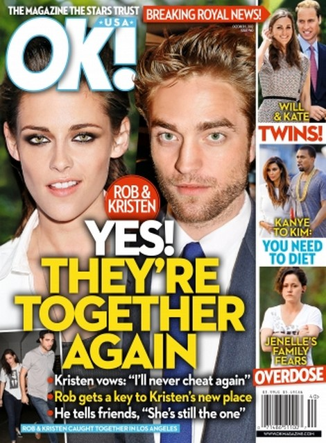 Robert Pattinson and Kristen Stewart ARE Back Together Again (Photo)