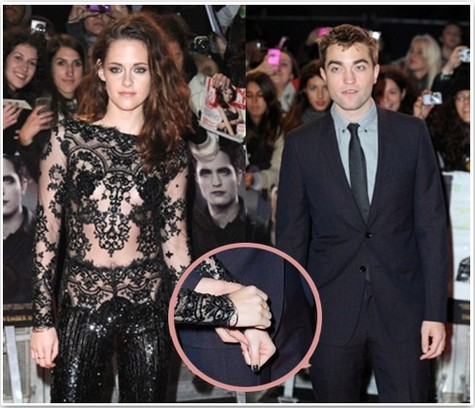 Breaking News: Kristen Stewart Refuses To Hold Robert Pattinson's Hand at Breaking Dawn Part 2 London Premiere