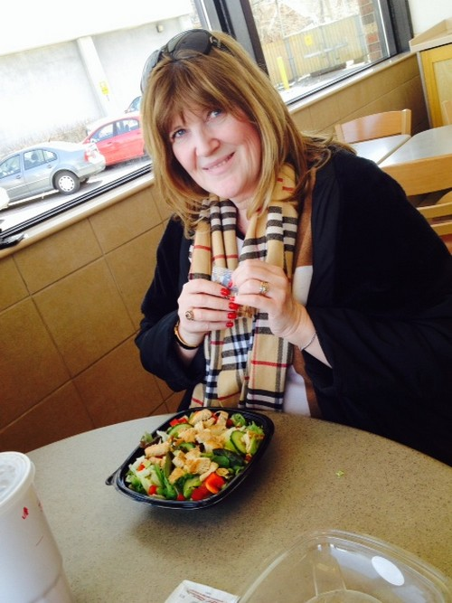 """Wendy's the Perfect Location for a """"Ladys' Lunch"""" or A """"Girls' Getaway"""" #NewSaladCollection"""