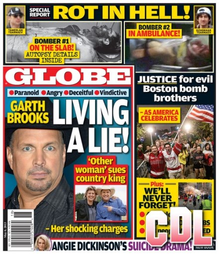 GLOBE: Justice For Evil Boston Bomb Brothers - ROT IN HELL! (PHOTO)