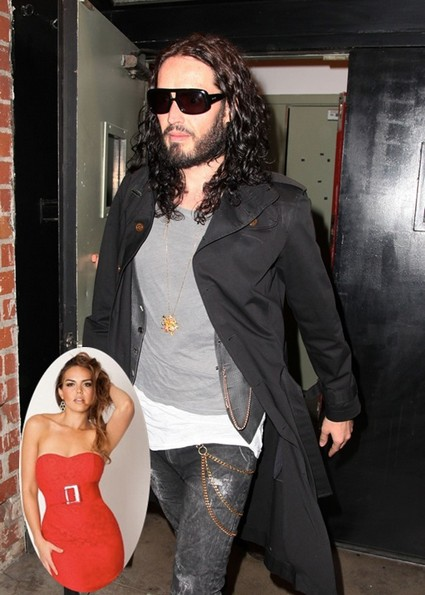 Russell Brand Rebounding With Hot Mexican Artist