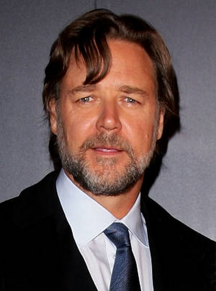 Russell Crowe In The Gym For 'Man of Steel' Role