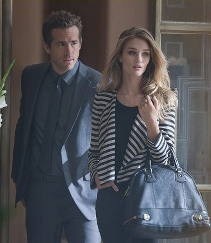 Ryan Reynolds and Rosie Huntington in New Marks and Spencer Ad Campaign