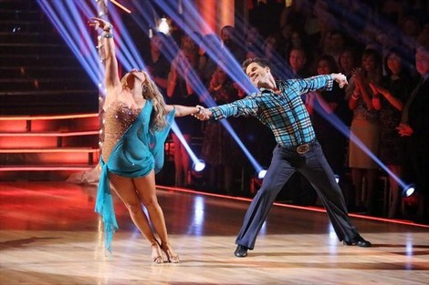 Sabrina Bryan Eliminated From Dancing With The Stars All-Stars 10/30/12 (Video)