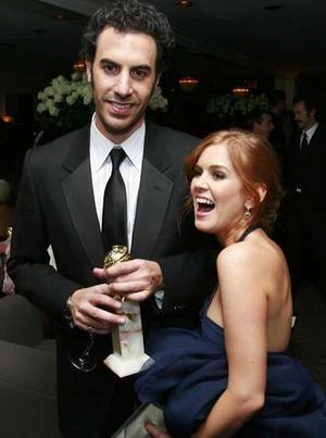 sacha baron cohen and isla fisher daughter. Isla Fisher amp; Sacha Baron