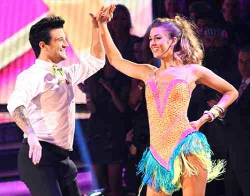 Sadie Robertson & Mark Ballas Dancing With the Stars Samba Video Season 19 Week 4 10/6/14 #DWTS