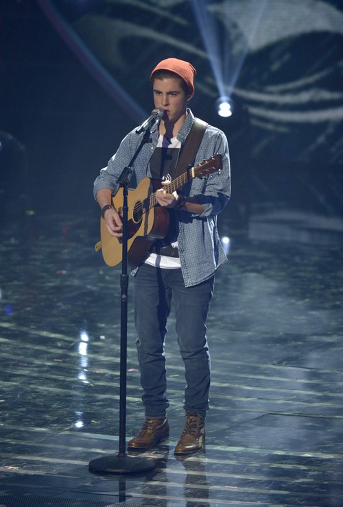 """Sam Woolf American Idol """"You're Still the One"""" Video 4/23/14 #IdolTop6"""