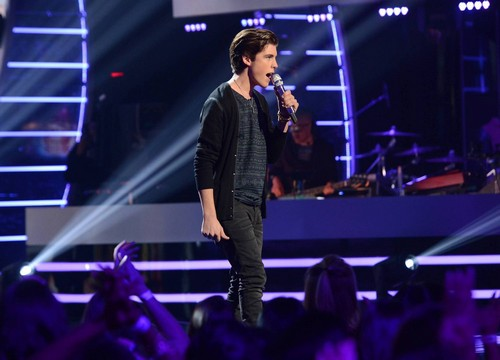 "Sam Woolf American Idol ""Time After Time"" Video 4/9/14 #IdolTop8"