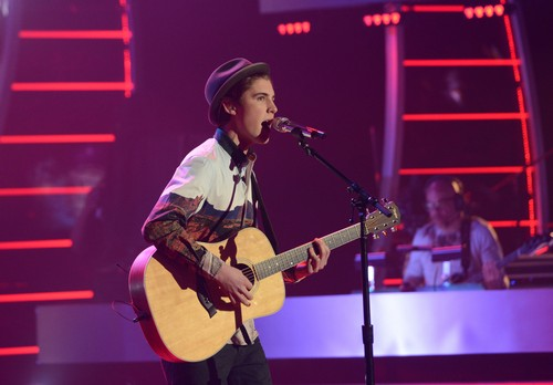 "Sam Woolf American Idol ""Hey There Delilah"" Video 3/26/14 #IdolTop9"