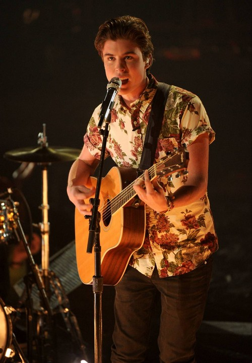 "Sam Woolf American Idol ""Lego House"" Video 4/2/14 #IdolTop8"
