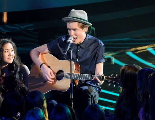 "Sam Woolf American Idol ""Come Together"" Video 3/12/14 #IdolTop11"