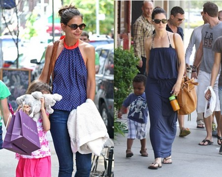 Katie Holmes Reaches Out To Sandra Bullock For Support
