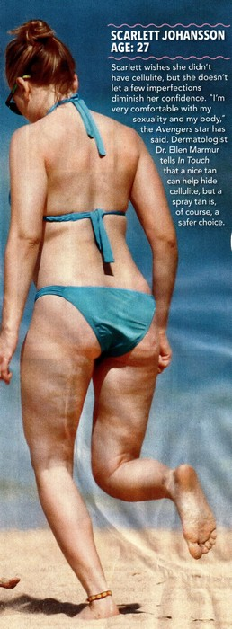 Scarlett Johansson Has Bad Cellulite And Says People Are Rude (Photo)