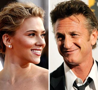 Sean Penn & Scarlett Johansen Change Tables To Escape Loudmouth Sharon Osbourne