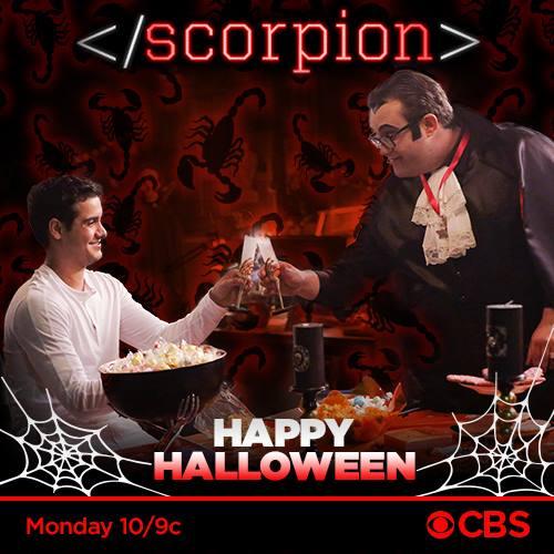 Scorpion recap 10 31 16 season 3 episode 6 quot bat poop crazy quot celeb