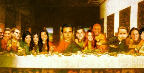 Scott Disick Admits Mason Not His Son: Insults and Ridicules Christians and Art With Instagram of a Kardashian Last Supper (PHOTO)