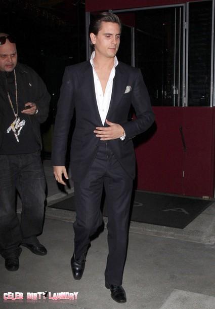Scott Disick Plan to Ditch Kourtney Kardashian and Their Son Mason