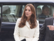 Kate Middleton Stays Maternity Stylish in  Max Mara Coat (Photos)