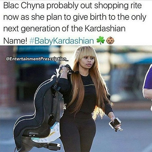 Rob Kardashian And Blac Chyna Having Babies Together - Kris Jenner Freaks Out At Crazy Possibility?