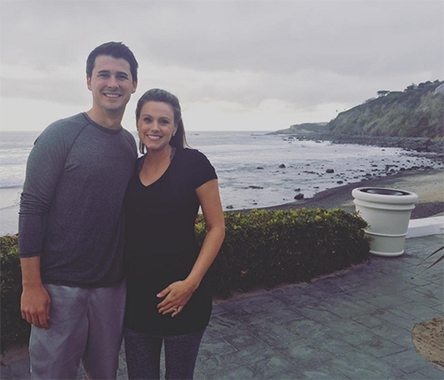 The Bachelor: Ashley Salter Pregnant - First Baby Bump Photo, See It Here!