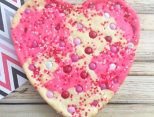 GIANT HEART COOKIE RECIPE