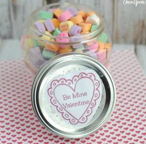 HEART VALENTINE JAR CRAFT