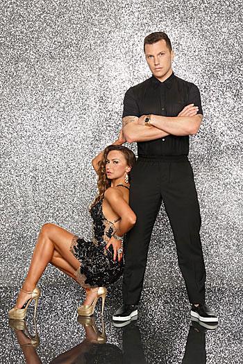 Sean Avery,Karina Smirnoff, Dancing With The Stars