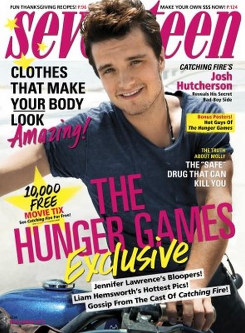 Josh Hutcherson Dumped By Vanessa Hudgens: Tells Seventeen She Broke Up and Broke His Heart