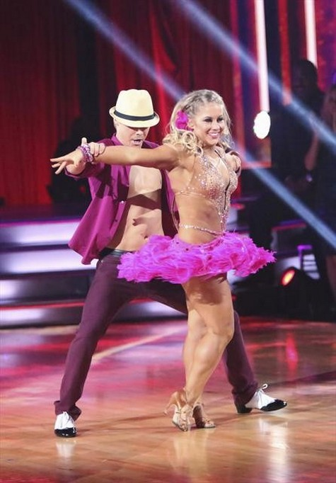 Shawn Johnson Dancing With the Stars All-Stars Samba Performance Video 10/23/12