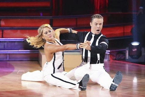 Shawn Johnson Dancing With the Stars All-Stars Mambo Performance Video 10/15/12