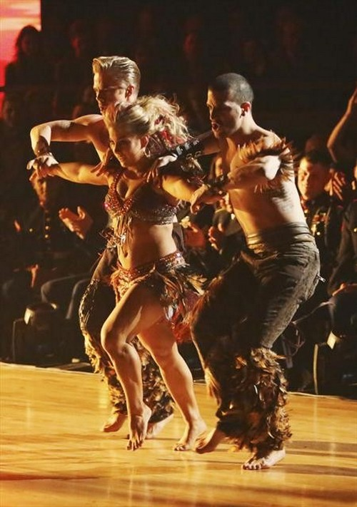 Shawn Johnson Dancing With the Stars All-Stars Argentine Tango Performance Video 11/19/12