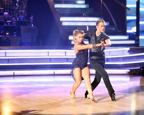 Shawn Johnson Dancing With the Stars All-Stars Freestyle Performance Video 11/26/12