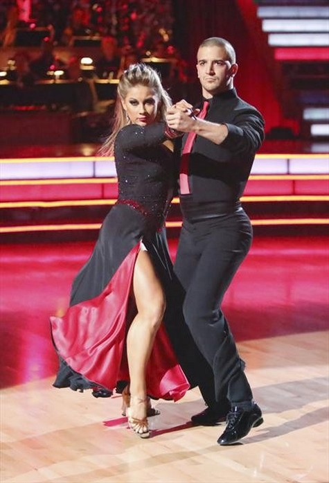 Shawn Johnson Dancing With the Stars All-Stars Viennese Waltz Performance Video 11/12/12