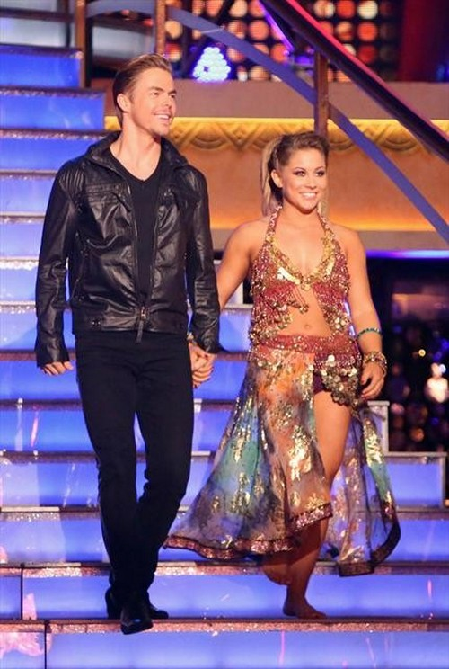 Shawn Johnson Dancing With the Stars All-Stars Quickstep Performance Video 11/26/12