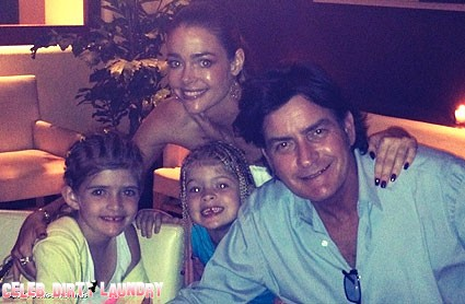 Another Family Vacation For Charlie Sheen And Denise Richards - Can Marriage Be Far Off? (Poll)