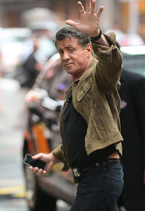 Racist Sylvester Stallone Shouts N-Word At Paparazzi
