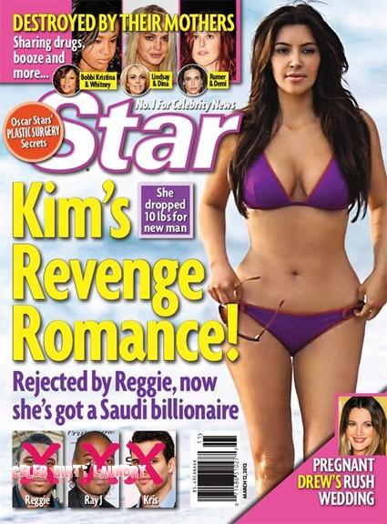 Dumped By Reggie Bush Kim Kardashian Bares It All For Saudi Oil Sheik (Photo)