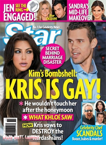 Kim Kardashian Claims Kris Humphries Is Gay! (Photo)